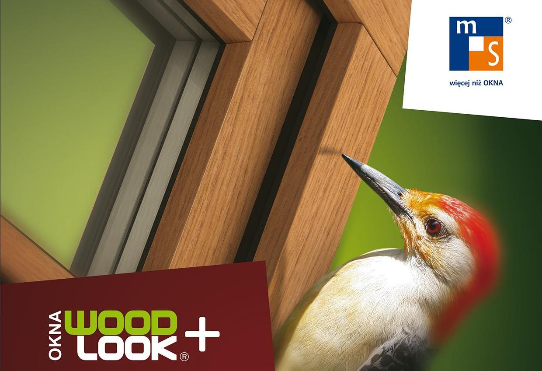 Okna WoodLook PVC